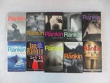 Lot of 10 Ian Rankin JOHN REBUS Mysteries & Bleeding Heart Orion & St. Martin's