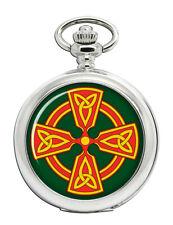 Celtic cross Christian Pocket Watch