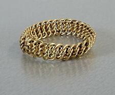 edles 585 Gold Armband geflochten Damenarmband 31,28g Länge 19,5 cm