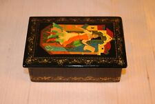 Vintage Russian Signed Lacquer Box