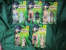 Lot 5 Star Wars POTJ Power of the Jedi Hasbro 2000 Collection 1 Collection 2
