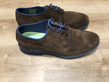 BROWN SUEDE Ted Baker LEATHER BROGUES SHOES  UK 8 new in box Eur 42