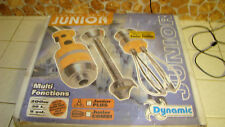 Dynamic Junior Combi Stick Mixer, Hand Mixer, Whisk Made in France NEW open box