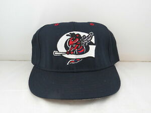 Greensboro Hornets Hat (VTG) - Major Minor Affiliate Hat Pro Line - Fitted 7 3/8