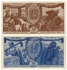 "Ww1 Bills w Soldiers, Howitzer! ""We Melted our Church Bells for a Cannon"" Cv $60"