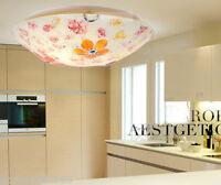 European Style 3 Lights Colorful Diameter 40CM Height 10CM Bedroom Ceiling Light