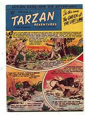 Tarzan Adventures Vol 8 #21 Aug.1958 Western Publishing British  CBX38B