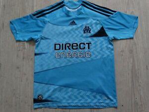 om maillot foot enfant  Olympique de Marseille 2009 2010 ext jersey 11 12 ans