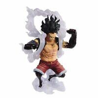 One Piece King of Artist Anime Monkey D. Luffy Snakeman Statue Figure Banpresto