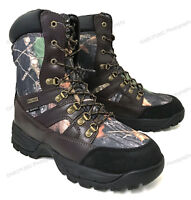 Men's Hunting Boots Waterproof Winter Snow Leather & Nylon Thinsulate- 600 grams