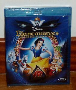 Snow White Y the Seven Dwarfs Disney Classic Nº1 Blu-Ray New (No Open)