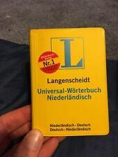 Dutch - German Pocket Dictionary Langenscheidt Niederländisch - Deutsch