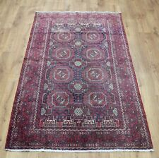 Persian Traditional Vintage Wool 200cmX 105cm Oriental Rug Handmade Carpet Rugs