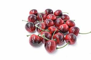 Pack of 20 Decorative Fruit Cherries Fake Fruit Model for Decoration