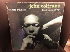 John Coltrane Blue Train LP Blue Note 1959 MONO pressing BLP 1577 VG-