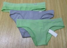 NWT LOT OF 3 WOMEN GILLY HICKS SYDNEY BIKINI+CHEEKY+BOY BIKINI PANTIES Sz XS