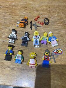 10 X LEGO Mini Figures Job Lot Bundle Minifigures Mixed soldier city