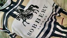 HUDSON OUTERWEAR -ROBBERY -Men's T-Shirt -Beige Designer Inspired Print - Size S