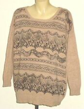 Viscose Scoop Neck Hand-wash Only Thin Knit Jumpers & Cardigans for Women