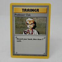 Professor Oak Shadowless 88/102 - LP - 1999 Pokemon Game Base Set WOTC