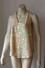 ANTHROPOLOGIE Moulinette Soeurs Party Sequin Top size 12 BNWT #3