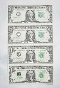 Rare** UNCUT SHEET - 2003-A $1 - Choice Unc - Never Cut by the Treasury! *616