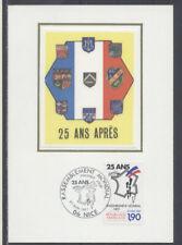 FRANCE FDC - 2481 5 RASSEMBLEMENT DES PIEDS NOIRS - 27 Juin 1987 - LUXE sur soie