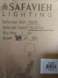 Rhett 28 in. Antique Brown Table Lamp by Safavieh