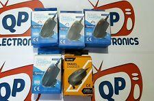 Bulk Job Lot of 5 x UK Travel Charger Micro USB 5V 1A