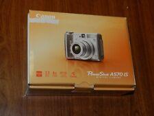 New Open Box - Canon PowerShot A570 IS 7.1MP Camera Gray - 1773B001 013803078442