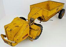 "Vintage Charles Wm Doepke Model Toys Wooldridge Pressed Steel 25"" Earth Mover"