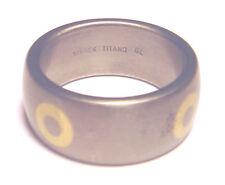 COOL Artisan STARCK TITANO GL Band CIRCLE RING Brushed Finish TITANIUM Size 9
