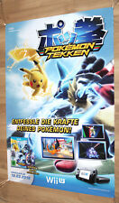 Pokkén Tournament Pokémon Tekken promo Poster 84x59.5cm Nintendo Wii U Switch