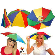 Adult Umbrella Hat Foldable Sun Shade Camping Fishing Hiking Parasol Cap Costume