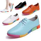 chaussures casual pour femme et etudiantes plate espadrilles avec lacets