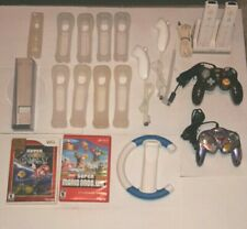 Wii Controllers And Game Lot, Super Mario wii, galaxy
