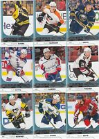 2017-18 UPPER DECK YOUNG GUNS lot of 9 DIFFERENTS CARDS     LOT 46    a