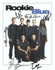 Rookie Blue Hand Signed 8x10 Photo+Coa Signed By All 7 Whole Cast Signed