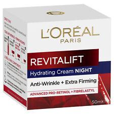 NEW L'Oreal Paris Revitalift Extra-Firming Anti-Wrinkle Hydrate Night Cream 50ml