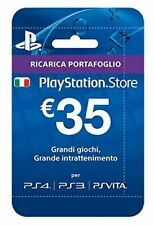 Sony Playstation: Live Card Hang 35 Euro Contenuto Scaricabile