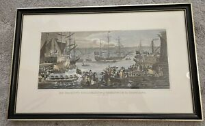 J Fussell His Majesty's Embarkation At Greenwich, For Scotland August 10th 1822,