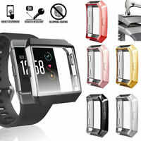 Ultra-thin Soft TPU Screen Protector Case Cover For Fitbit Ionic Smart Watch PR