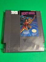 🔥 💯 WORKING NINTENDO NES SUPER RARE GAME Cartridge - KEMCO - Rocket Ranger