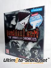 Jeu Nintendo Wii - RESIDENT EVIL The Umbrella Chronicles + Light Gun - FR - Neuf