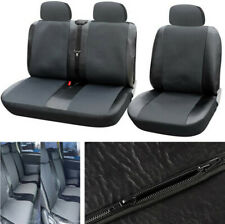 Truck Car 1+2 Front Seat Cover Grey Polyester Front Cushion Protector All Season