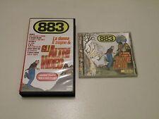 883 - LA DONNA IL SOGNO &... - VHS+CD - CECCHETTO 1995 PAL - BUONE CONDIZIONI V2