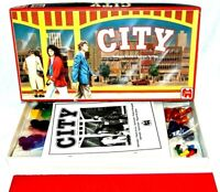 CITY VINTAGE BOARD GAME 1988 JUMBO COMPLETE