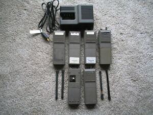 Lot of Motorola HT 600 Walky Talkie Radios