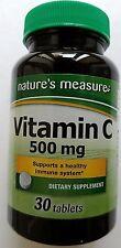 HI-POTENCY VITAMIN C Dietary Supplement 500 mg/Tablet 30 Tablets