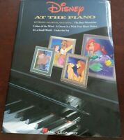 Walt Disney at the Piano Solo Songbook Sheet Music Book